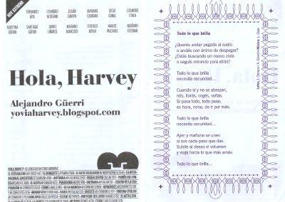 Programa de la Presentación – Hola, Harvey