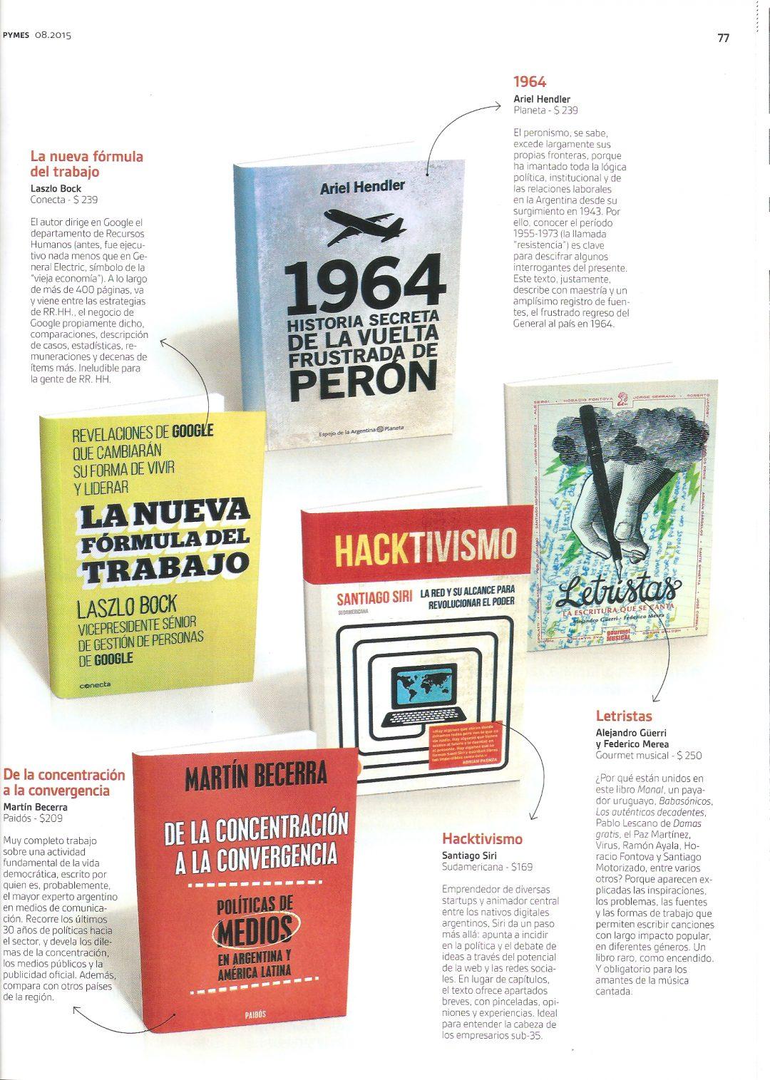 Revista Pymes – Letristas