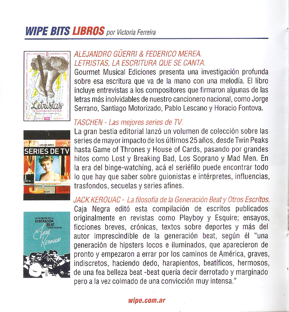 Wipe – Letristas