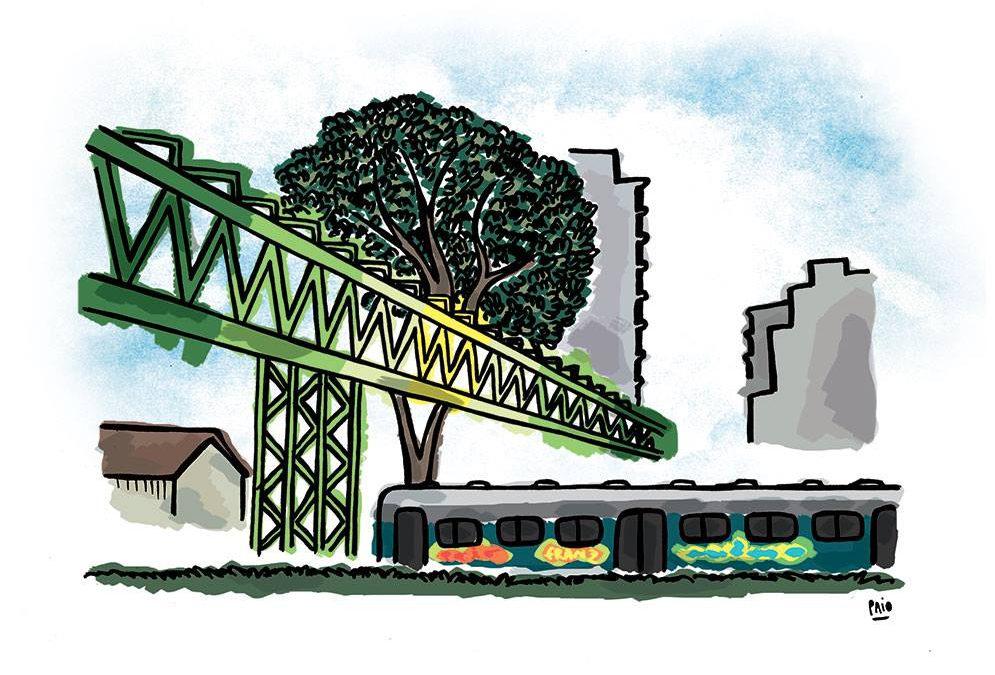 Los puentes de Colegiales