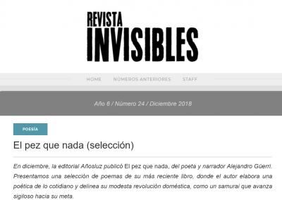 Revista Invisibles – El pez que nada